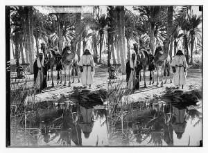 To Sinai via the desert. Scene at the Springs of Moses; (Mara...